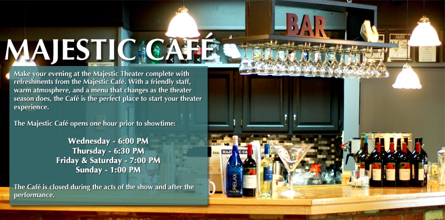 majestic office coffee bar.  Majestic Theater Cafe
